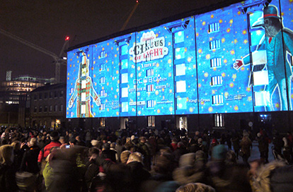Lumiere London at King's Cross