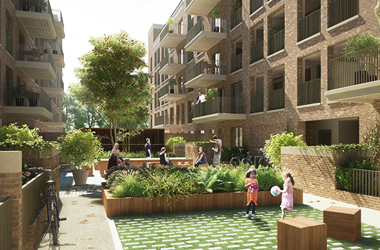 Nightingale Estate Awarded Planning