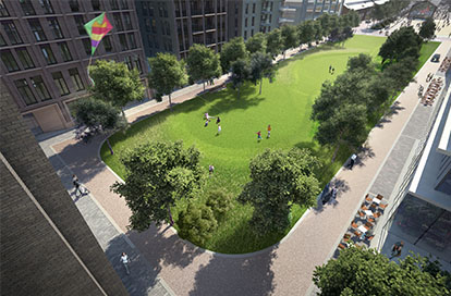Two New Open Spaces for King's Cross